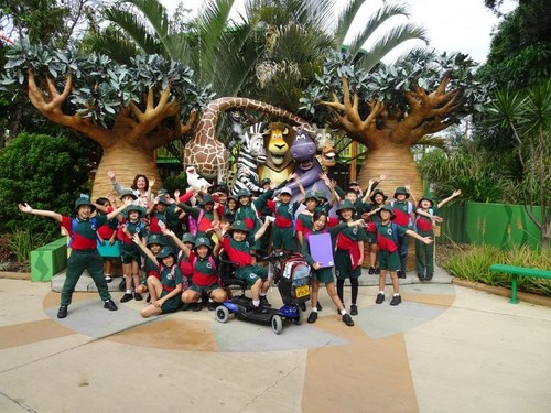 Year 4 - Dreamworld Excuesion